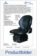 AG1081366 Grammer Compacto Comfort M PVC luchtgeveerd MSG93-521