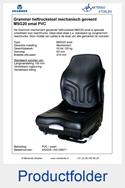 A52025-AG135671 Grammer MSG20 smal-41cm PVC mechanisch