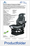 1288547TMSI-Grammer-MSG95AL-731-Maximo-Professional-FENDT-luchtgeveerd