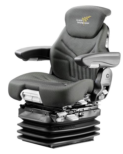 Luchtgeveerde trekkerstoel