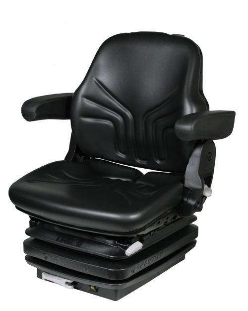 Mechanisch geveerde trekkerstoel